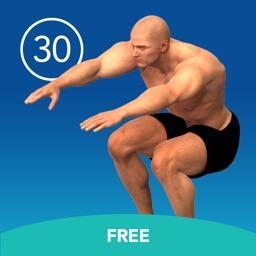 Men's Squat 30 Day Challenge FREE
