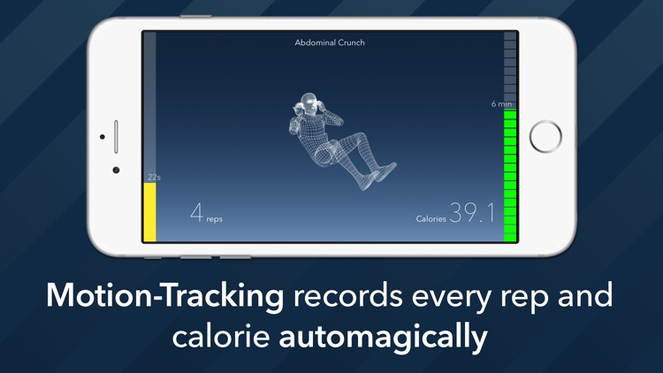7 Minute Motion-Tracking Workout screenshot-0
