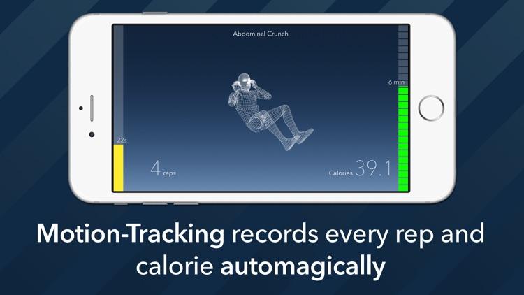 7 Minute Motion-Tracking Workout screenshot-0