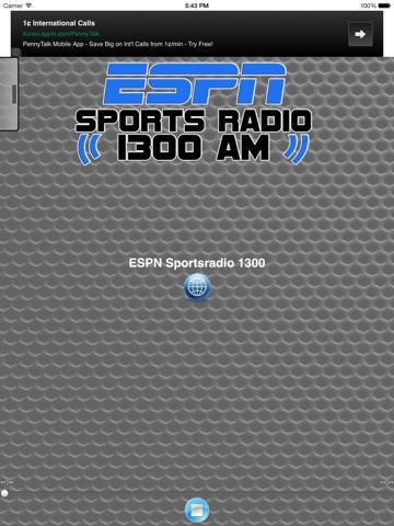ESPN SPORTS RADIO 1300 WLXG-ipad-2