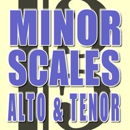 Minor Scales Alto and Tenor Clef