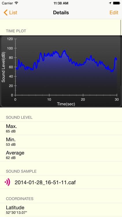 Noise Meter - Sound Level Meter screenshot-3