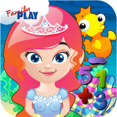 Activities of Mermaid Princess Preschool Adventure: Basic Addition, Subtraction, Missing Number and More Math Adve...