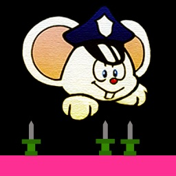 Mappy the Bouncing Mouse - A retro style game