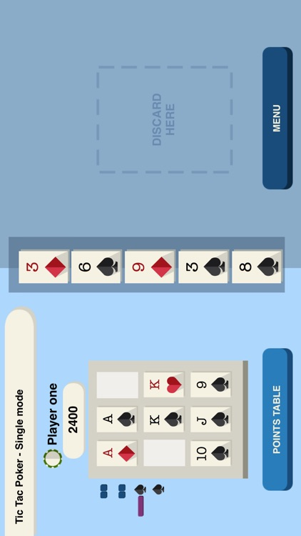 Tic-A-Tac Poker screenshot-3