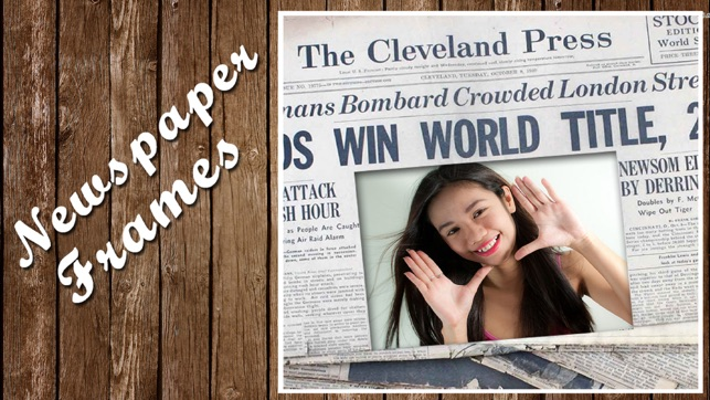 Newspaper Photo Frames on the App Store