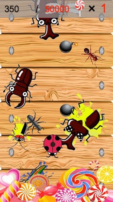 虫潰し(シンプルで簡単&ハマる・暇つぶしゲーム)紹介画像1