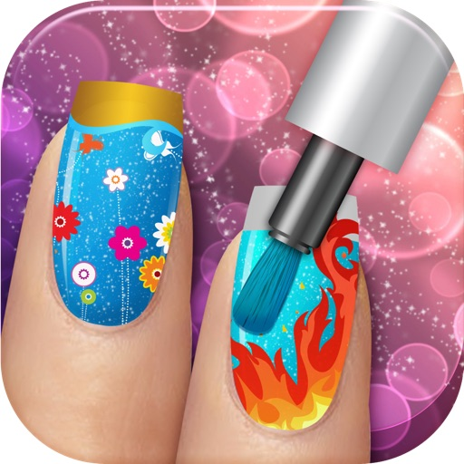 Adorable Princess Nail Salon - Free Makeover Game for Girls