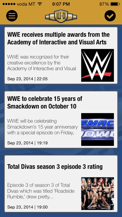 Wrestling-Online.com News screenshot-0