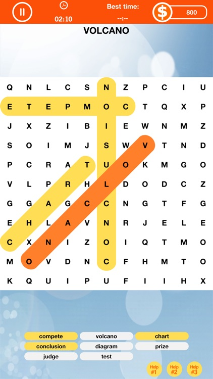 Word Search Game - Look for the Hidden Words Puzzle