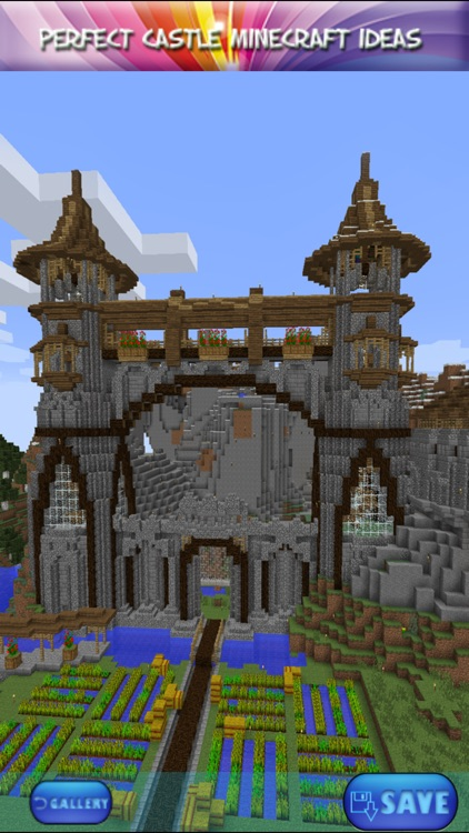 minecraft castle ideas easy