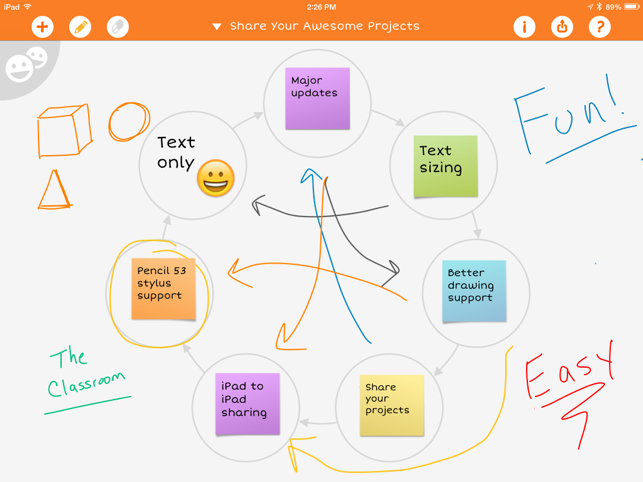 ‎iBrainstorm Screenshot