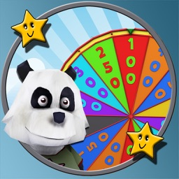 Pandoux and wheel of chance for kids - free game