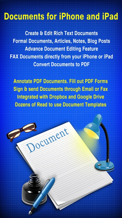 Documents - Word Processor and Reader  for Microsoft Office screenshot-0