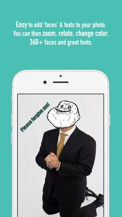 TrollBooth: Easily add troll, rage, neutral faces to your photo