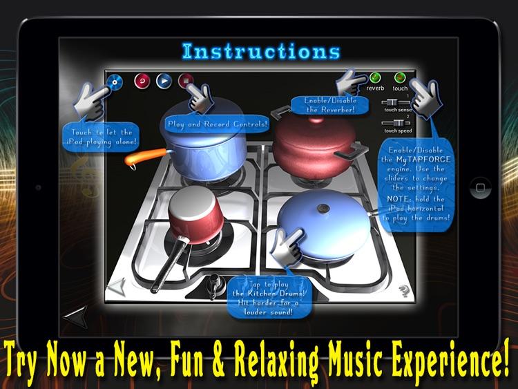 Kitchen Drums - HD Pro Version screenshot-4