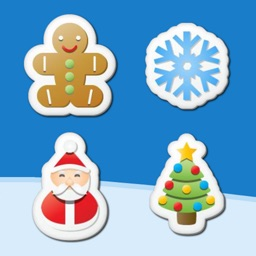 Christmas Stickers - Free X-mas Matching Puzzle Mania