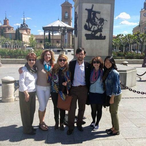 Visitando Alcalá
