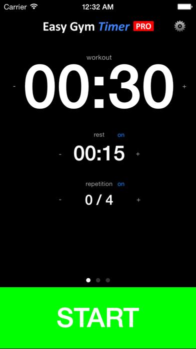 Easy Gym Timer PRO screenshot one