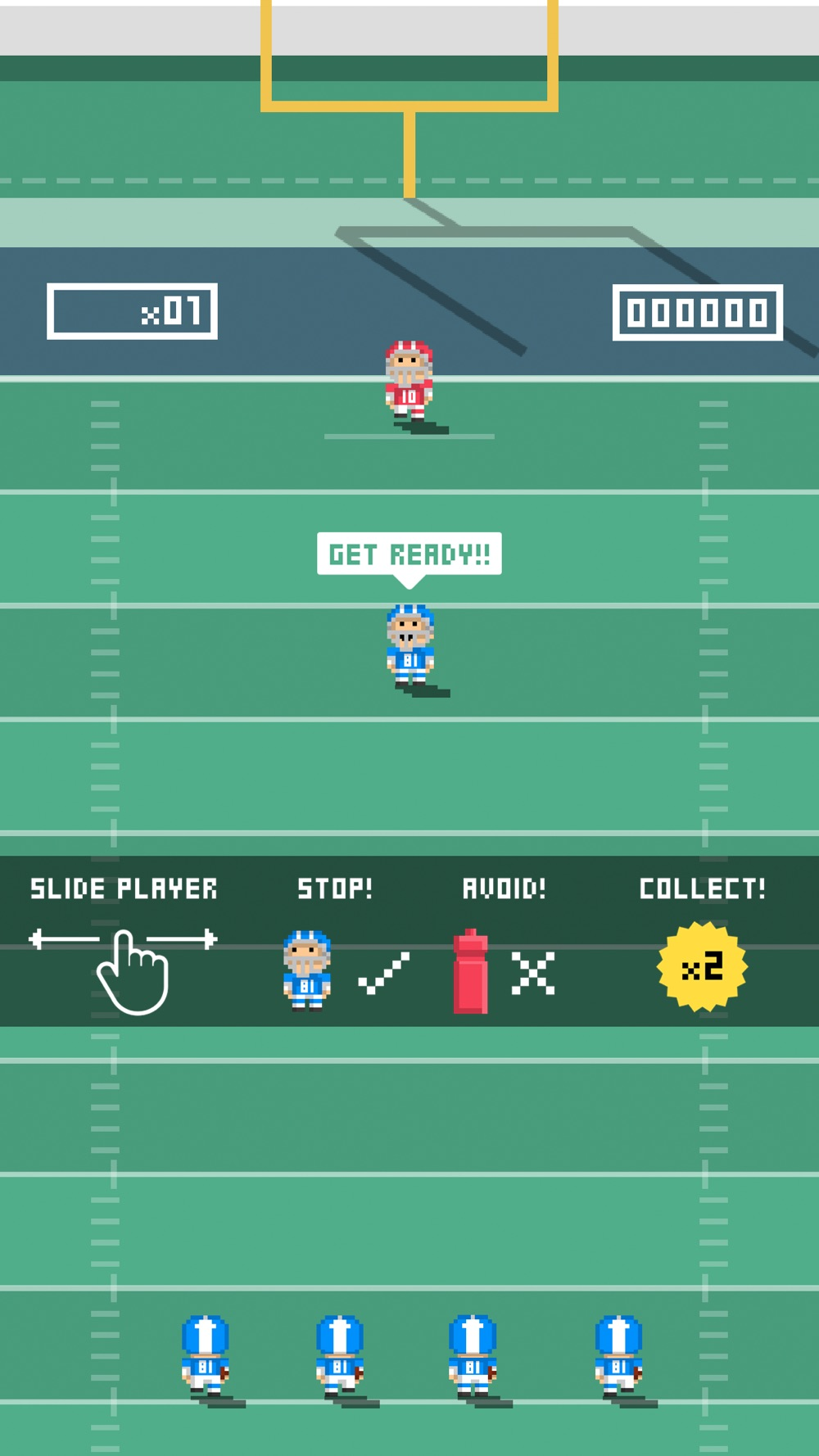 Tiny Touchdown Cheat Codes