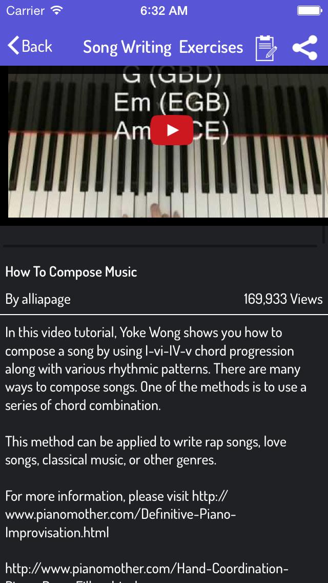 点击获取Song Writer - Learn How To Write Song