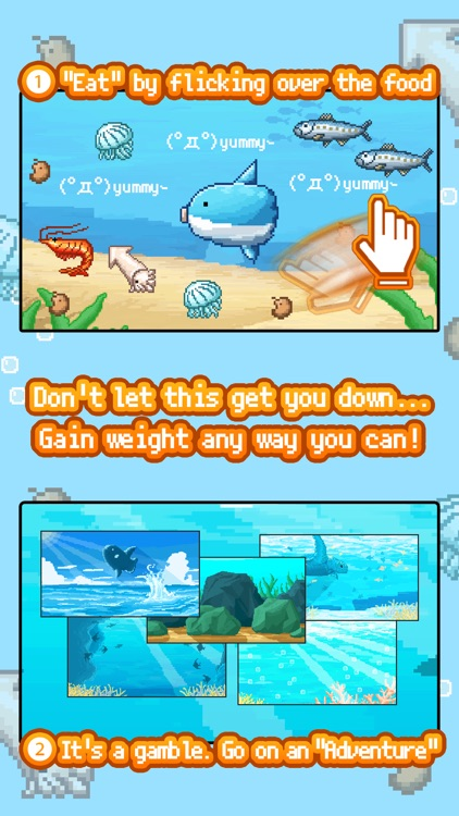 Survive! Mola Mola! screenshot-2