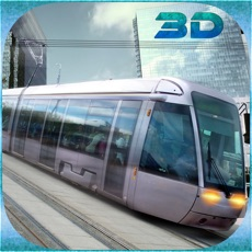 Activities of City Tram Driving Conductor Sim 3D