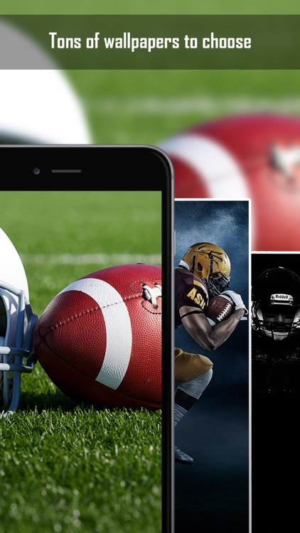 American Football Wallpapers & Backgrounds - Home Screen Maker with Sports Pictures screenshot-3