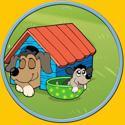 kids love dogs - no ads game for kids
