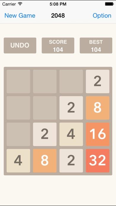 2048 UNDO Plus, Number Puzzle Game Free HD-0