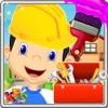 房子改造 - 修复家居饰品和收拾房间在这个孩子的游戏