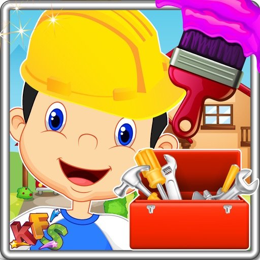House Makeover – Fix the home accessories & clean up the rooms in this kid's game iOS App