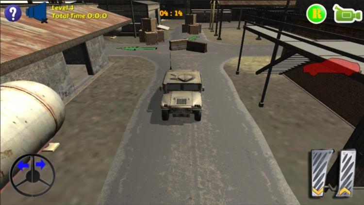 Humvee Car Parking