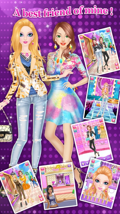 Fashion Salon™ - Girls Makeup, Dressup and Makeover Games screenshot-3