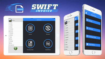 Swift Invoice Freeのスクリーンショット1