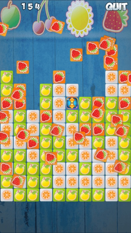 Fruit Blocks Rising - Smash the Fruits