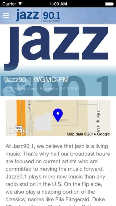 Jazz90.1 WGMC-FM screenshot four