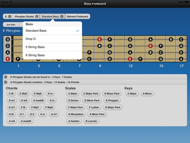 ‎Bass Chords and Scales