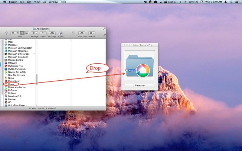 Folder Factory Pro скриншот программы 2