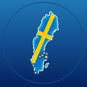 Geo World Cities Sverige – Stadsquiz som använder gatuvy