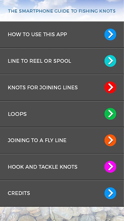 The Smartphone Guide to Fishing Knots screenshot-4