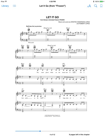 Let It Go From Frozen Sheet Music By Idina Menzel On Apple Books