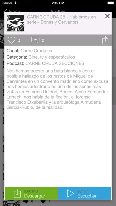 Carne Cruda Screenshot