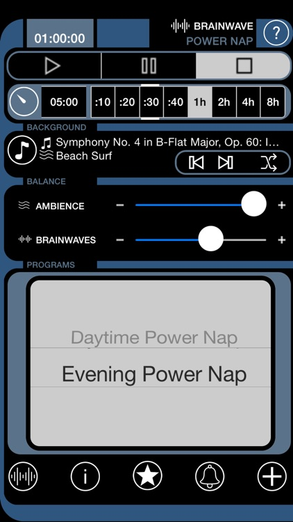 Brain Wave Power Nap - Advanced Binaural Brainwave Entrainment with Ambient Backgrounds and iTunes Music Mixing screenshot-4
