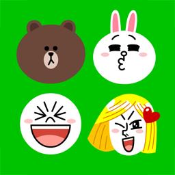 Ícone do app Emoji Keyboard by LINE