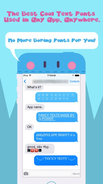 Symbol Font Keyboard -  Cool Text Fonts Symbolizer and Better Funny Fantastic Keyboards , Emoji Icons for Instagram and Vine Comments or iMessage, Kik and Twitter Message