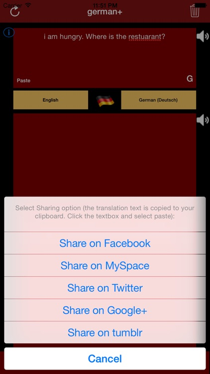 german+: German & English Translator and Translation Engine screenshot-3