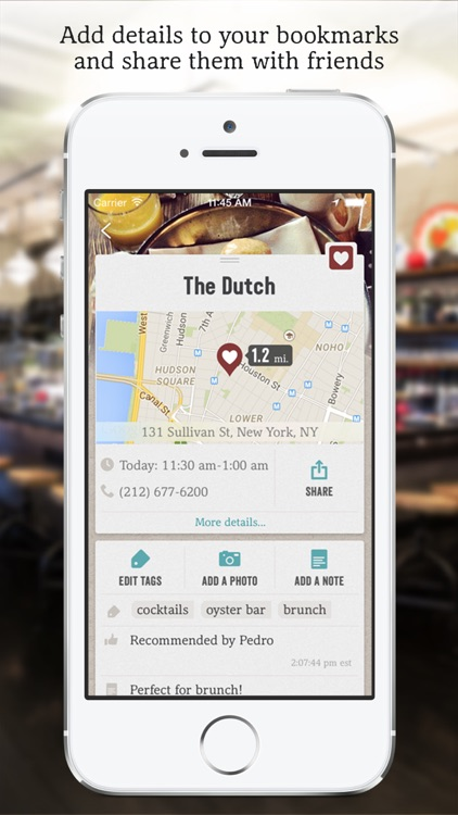 Matchbook - Restaurants Bars