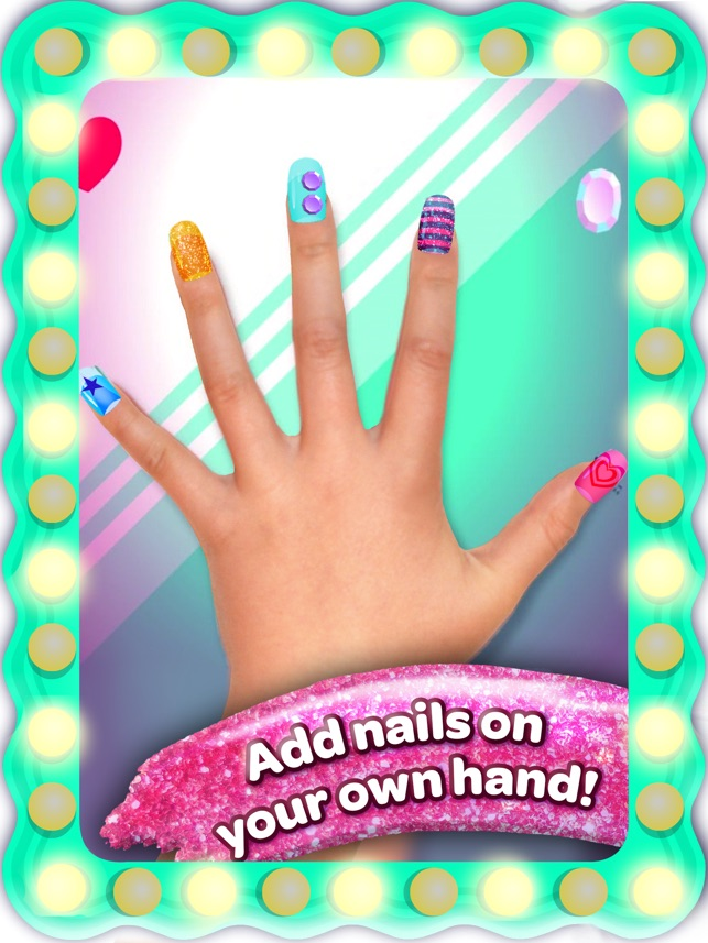 Crayola Nail Party – A Nail Salon Experience on the App Store
