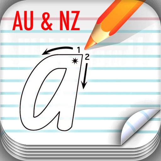 School Fonts - Learn to write (AU/NZ)